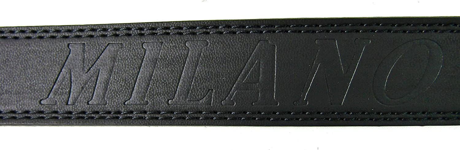 The Leather Emporium Mens Leather Belt 2757 28 To 32 Black