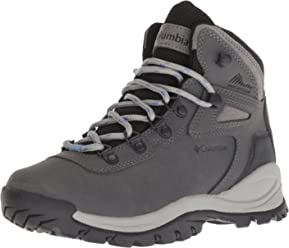 Columbia Womens Newton Ridge Plus Waterproof Hiking Boot, Breathable, High-Traction Grip
