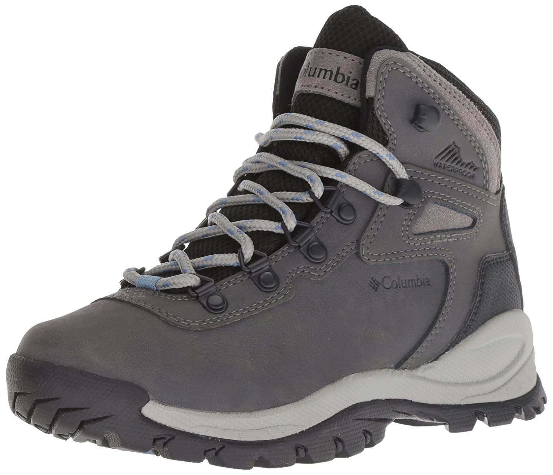 Columbia Women's Newton Ridge Plus Hiking Boot B073WG8132 5 Wide Wide US Quarry, Cool Wave