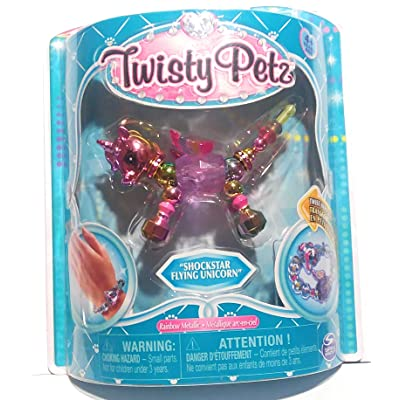 Twisty Petz New Series 3 ShockStar Flying Unicorn Collectible Bracelet Toy: Toys & Games