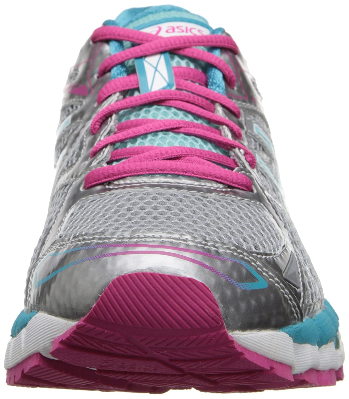 new style 9e31f 2715c Amazon.com   ASICS Women s Gel-Surveyor¿ 3 Lightning Ice Blue Hot Pink 12 B  - Medium   Road Running