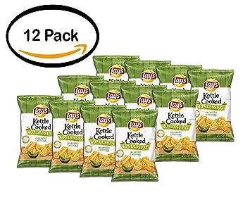 Pack de 12 – Lay s Hervidor de agua Cooked 40% menos de ...