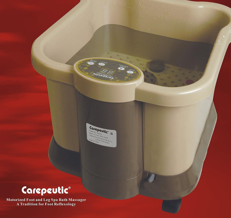 Amazon.com: Carepeutic Deluxe Motorized Foot and Leg Spa Bath ...