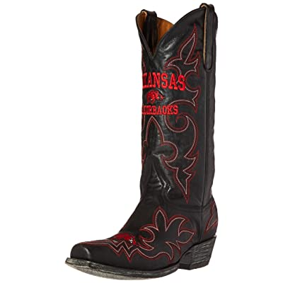 NCAA Arkansas Razorbacks Men's Gameday Boots: Sports & Outdoors