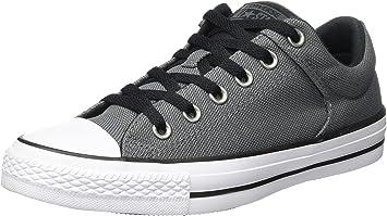 Inicialmente Bronceado Golpeteo  Converse Chuck Taylor All Star High Street Ox Zapatillas Gris Negro Talla:43:  Amazon.es: Deportes y aire libre