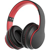 Rockpapa E7 Bluetooth Headphones Over Ear, Wireless Headset Foldable with Build-in Mic for Travel Home Office, Boys…