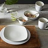 Noritake Colorwave White Rim Dinner Plate