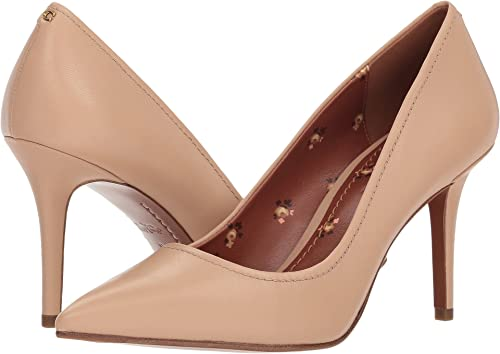 d273ba089bb Coach Women s Waverly Leather Pump (85mm) Beechwood 9 ...