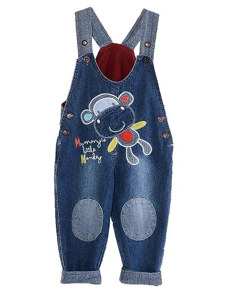 GGBaby@ Latzhose Kinder Baby Jungen Mädchen Jeanshose Latzhosen Jeans Hosen Baby Kinder Overall