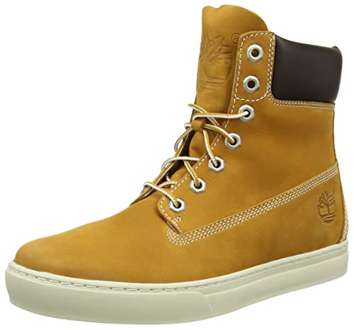 Timberland 2 0 Cupsole 6In, Baskets da Uomo, Giallo (Jaune (Wheat)), 41.5