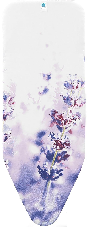 Decori Variabili Colori assortiti Solo Parte Superiore in Cotone Selezione Colourful Brabantia Perfect Fit Fodera 1 pezzo 124x38 cm,