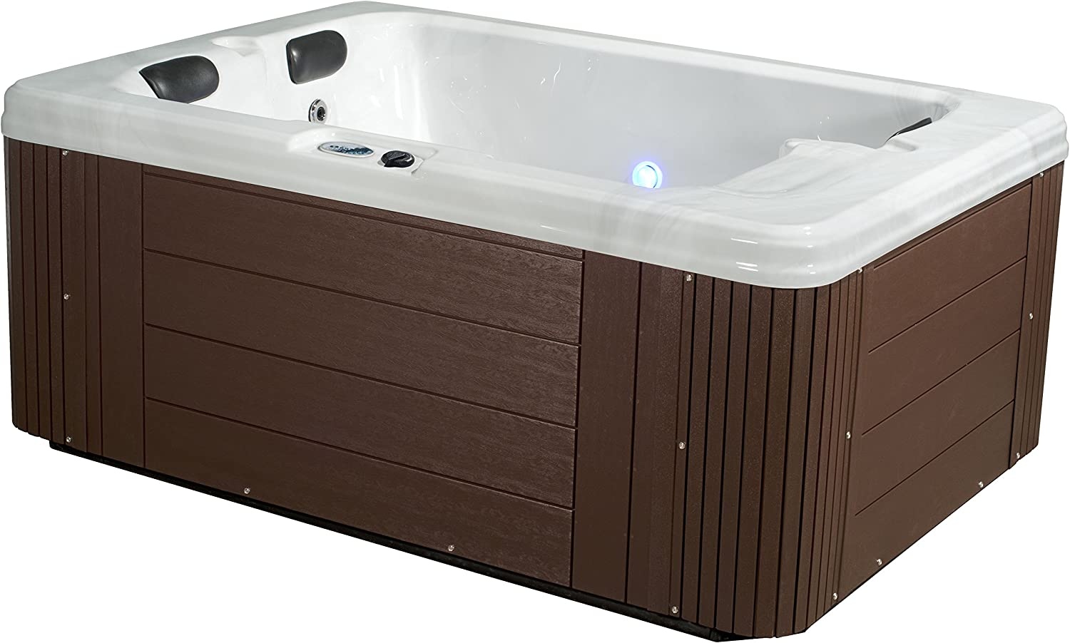 Essential Hot Tubs - Devotion - 24 Jets, Lounger Acrylic Hot Tub