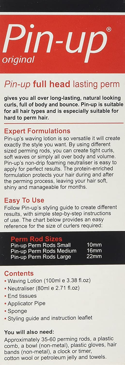 Amazon Pin Up Home Perm Full Head By Groceryland Beauty