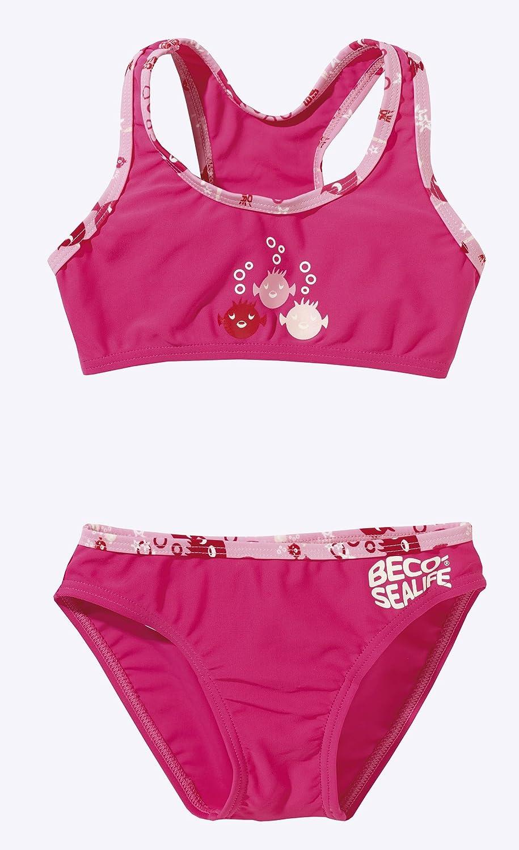 Beco M/ädchen UV-Bikini Sealife