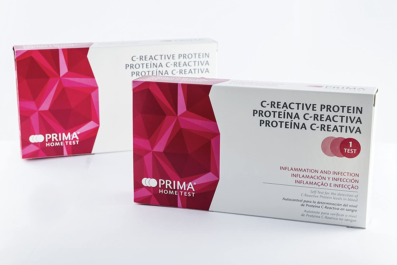 Prima Home Prueba de proteína C reactiva (Crp) 1
