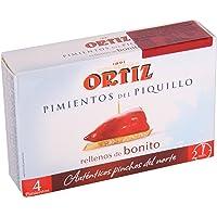 Pimientos del Piquillo rellenos de bonito 300g Ortiz