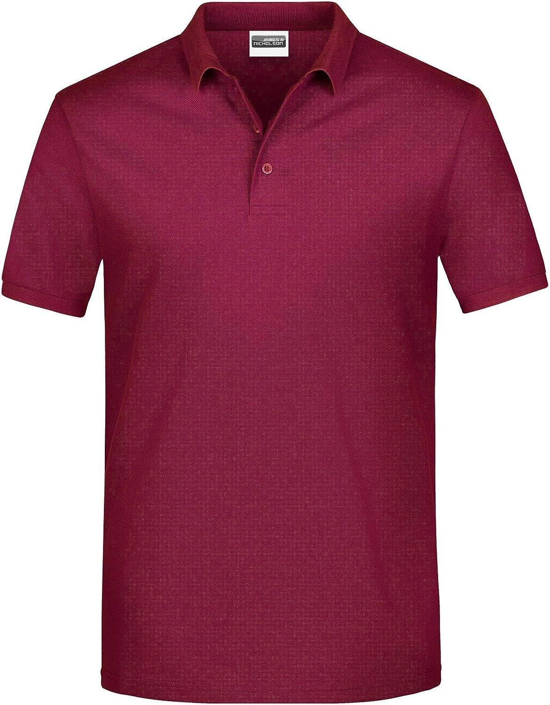 James And Nicholson Mens Basic Polo Shirt