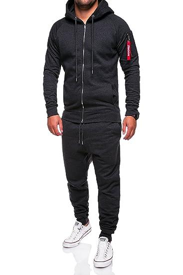 3b3222447d MT Styles Ensemble Pantalon de Sport + Sweat-Shirt Jogging survêtement  TA-01: Amazon.fr: Vêtements et accessoires