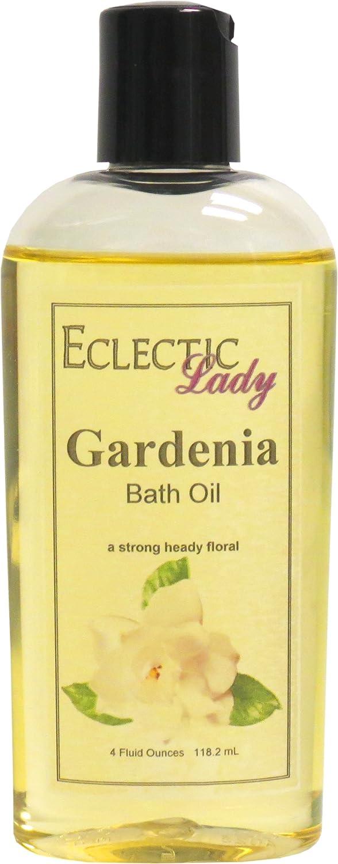 Gardenia Bath Oil, 4 oz Eclectic Lady