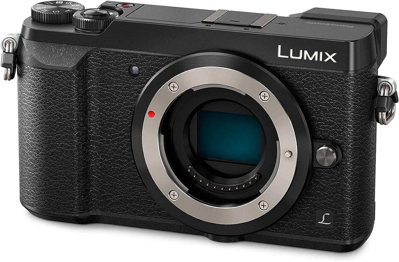 Panasonic Lumix G Dmc Gx80kegk Systemkamera Schwarz Kamera
