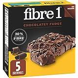 Fibre 1 Chocolate Fudge Brownies, 5-Count, 125 Gram