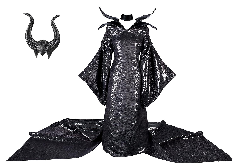 Amazon Com Hideaway Maleficent Style Women S Costume Dress
