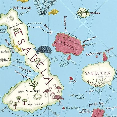 Carta Da Parati Sanderson Cielo Blu 213366 Galapagos Voyage