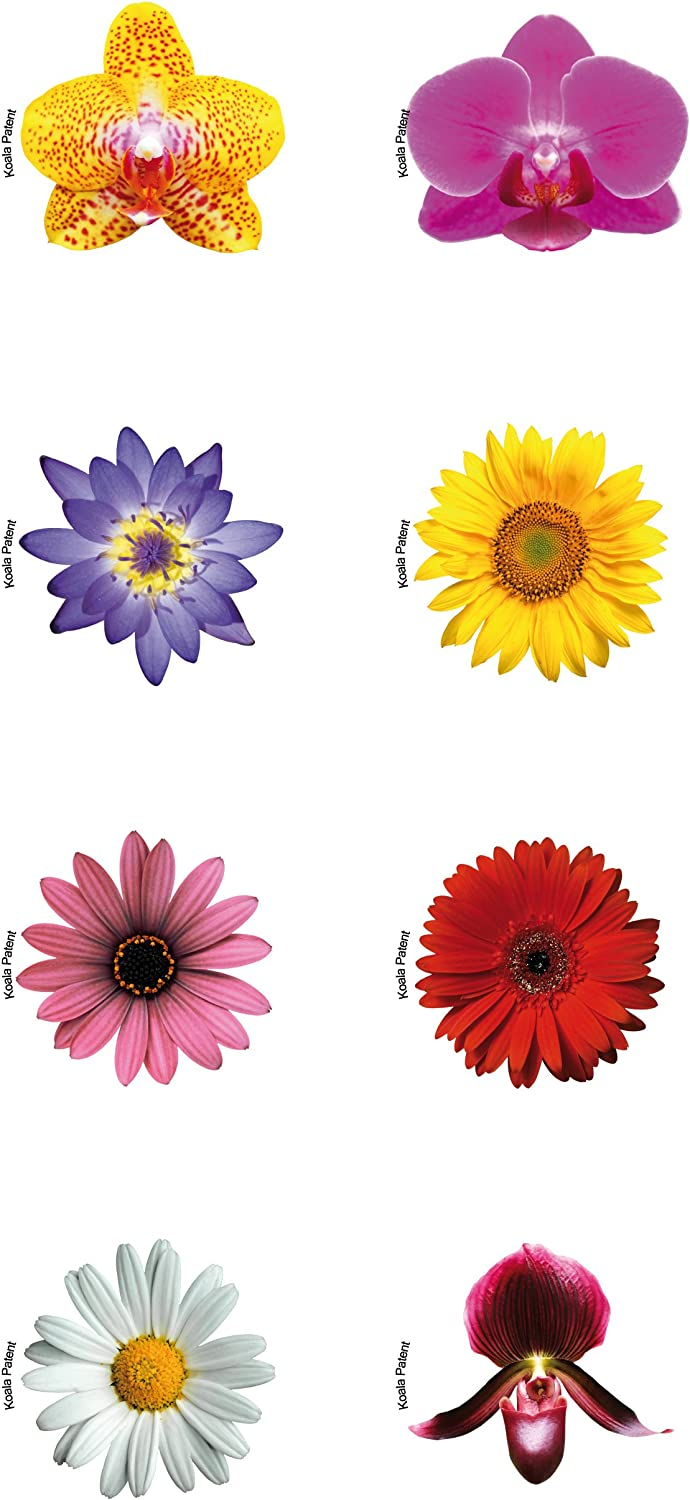 Koala Glass Markers Daisy-8 Pieces One Size Multi-Color
