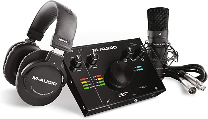 Top 10 Home Studio Recording M Audio
