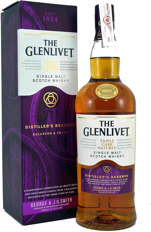 The Glenlivet DistillerS Reserve 1 L: Amazon.es: Alimentación y bebidas