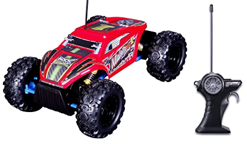 Red Maisto Rock Crawler Extreme