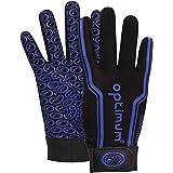 Optimum Men Velocity Full Finger Glove - Black/Blue, Small