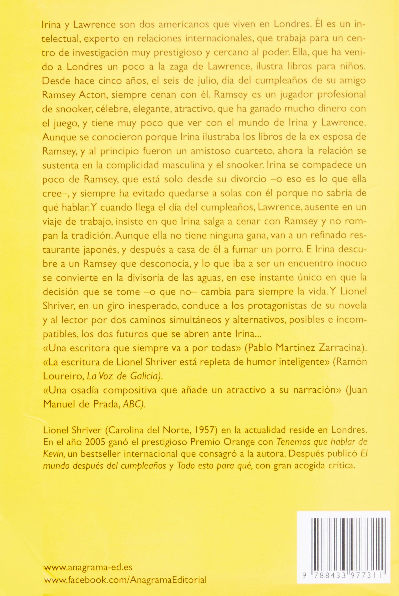 El Mundo Después Del Cumpleaños (Compactos Anagrama): Amazon ...