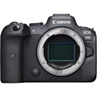 Canon EOS R6 Full-Frame Mirrorless Camera with 4K Video, Full-Frame CMOS Senor, DIGIC X…