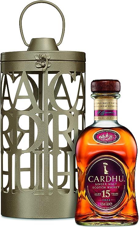 Cardhu Lantern 15 años Whisky Escocés Puro de Malta Edición ...