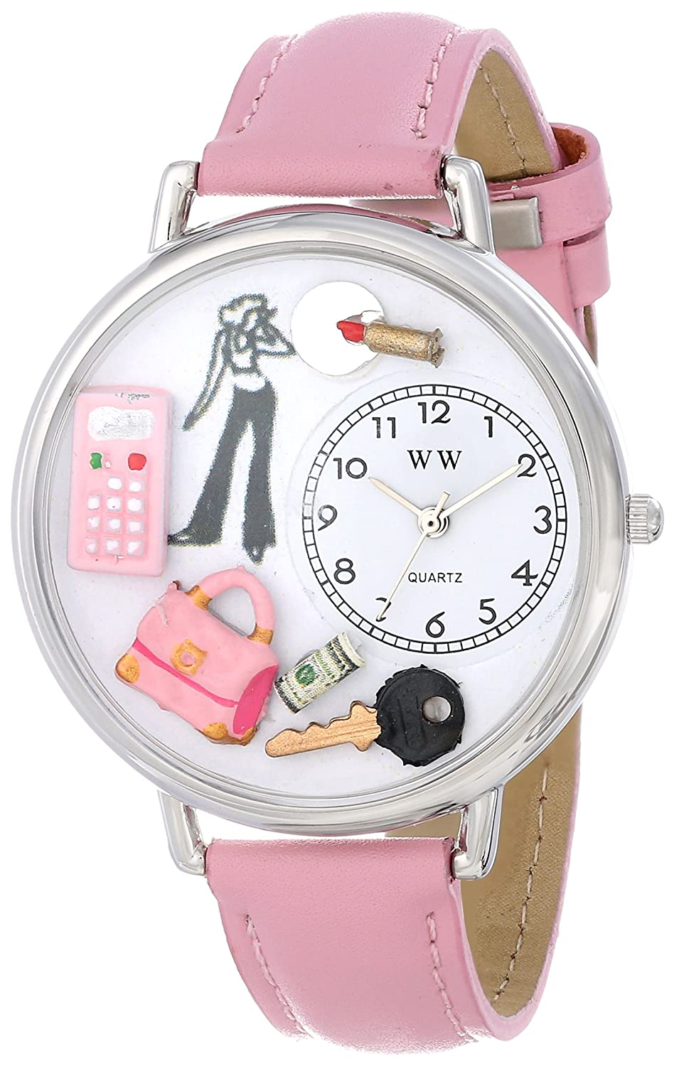 Teen Girl Watch in Silver (Large): Whimsical Watches: Amazon.ca ...