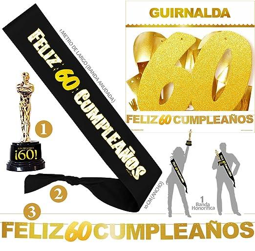 Inedit Festa - Banda 60 Años Cumpleaños Banda Honor Feliz 60 ...