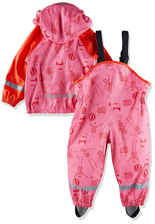 Helly Hansen K Bergen Pu Printed Waterproof Rainset Jacket and Pants