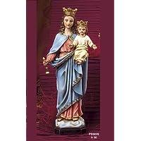 Statua Maria Madonna Ausiliatrice cm. 30 by Paben