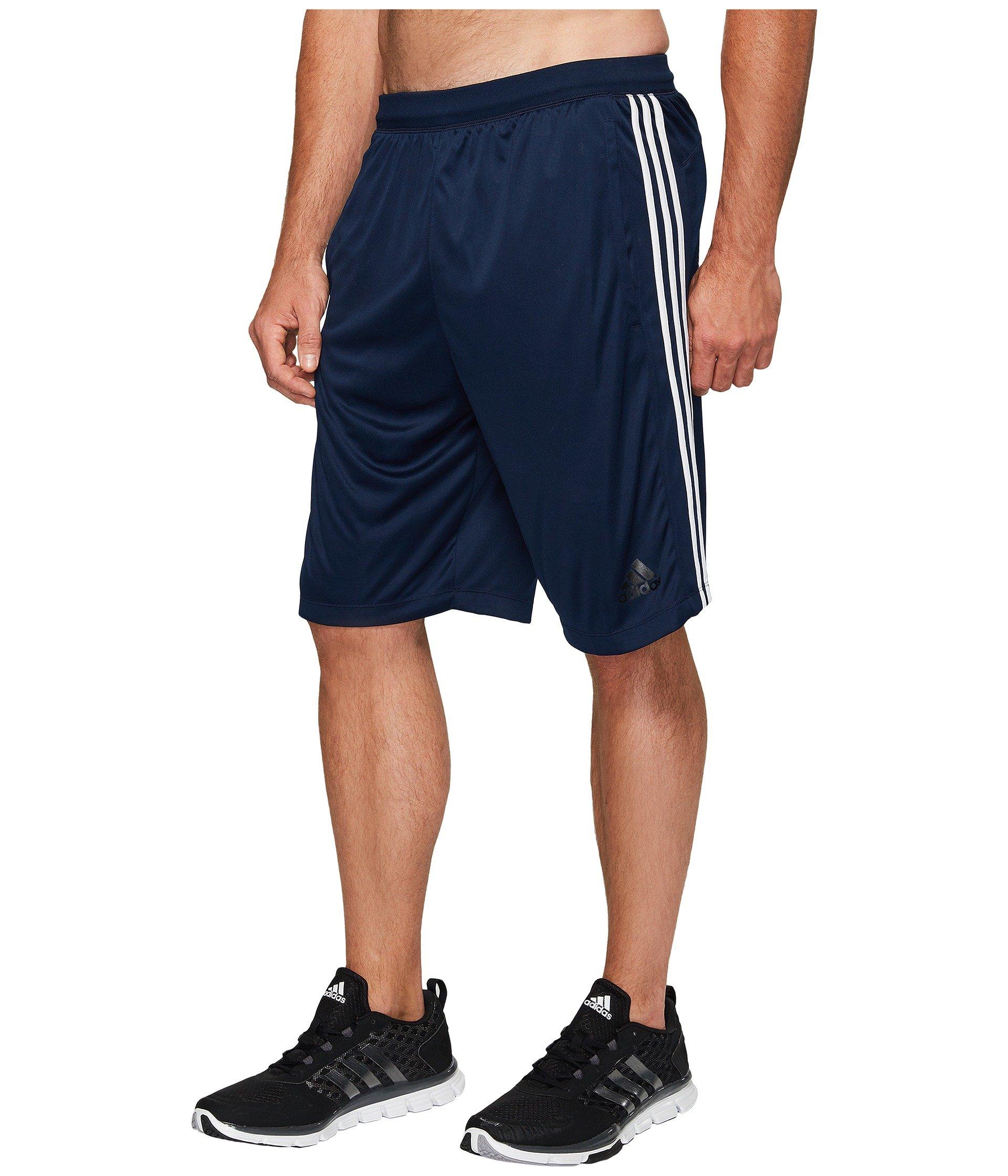 adidas Men's Designed-2- Move 3 Stripe Shorts - Big