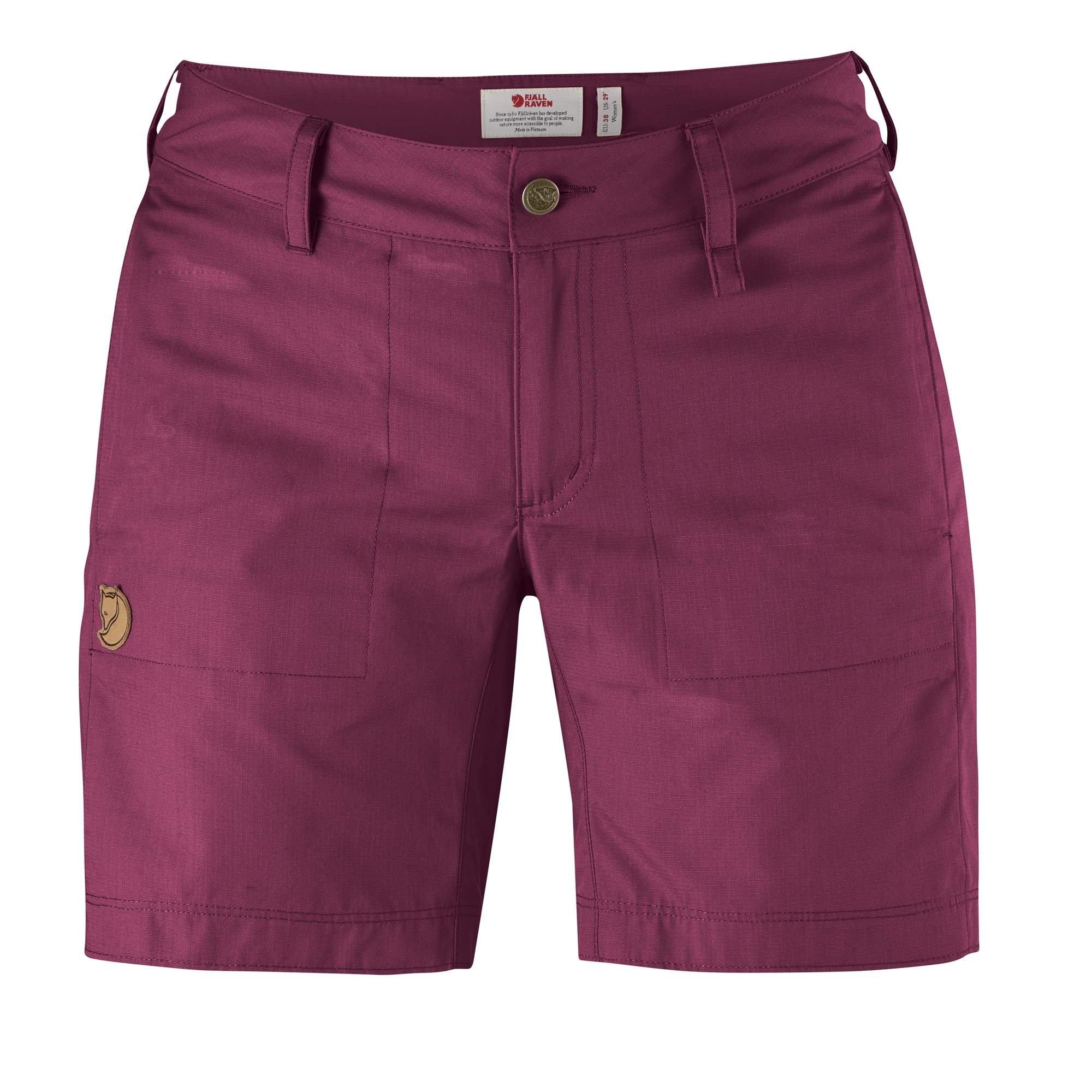 Fjallraven - Women's Abisko Shade Shorts, Plum, 46 by Fjallraven