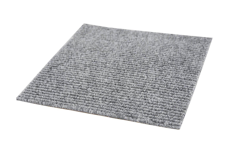 Incstores Berber Carpet Tiles Ocean Blue 20 Per Pack Amazon
