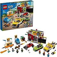 LEGO City Nitro Wheels 60258 Tuning Workshop Building Kit (897 Pieces)