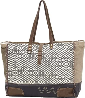 Amazon Com Myra Bags X Design Large Weekender Upcycled Canvas Bag S 0954 Clothing But no matter which option you choose, a good weekender bag does double duty. myra bags x design large weekender upcycled canvas bag s 0954