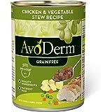 AvoDerm Natural Grain Free Chicken & Vegetable Stew Recipe Wet Dog Food 12.5 oz