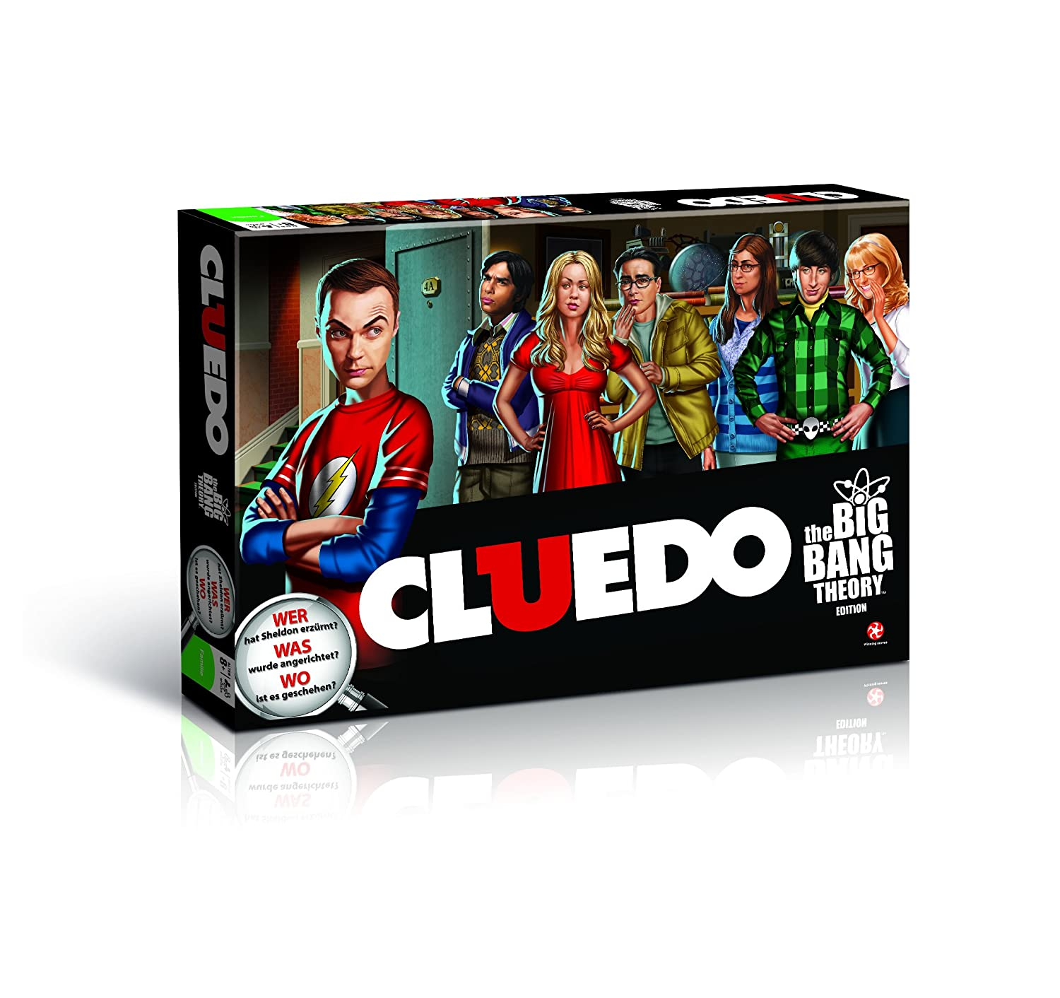 the big bang theory brettspiel cluedo