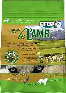 Addiction Grain Free Dry Dog Food Formulas Lamb