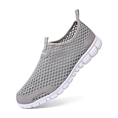Women's Mesh Water Shoes Slip On Casual Beach Sneakers