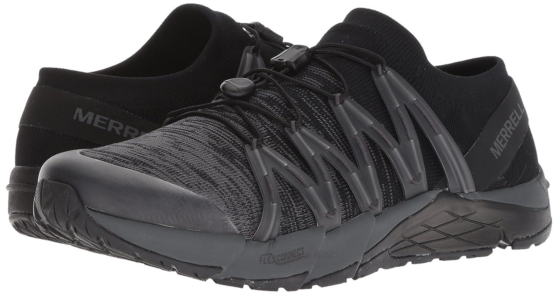 new product eac73 b9f2e Zapatillas de deporte de punto sin cordones Bare Access Merrell para hombre  Negro