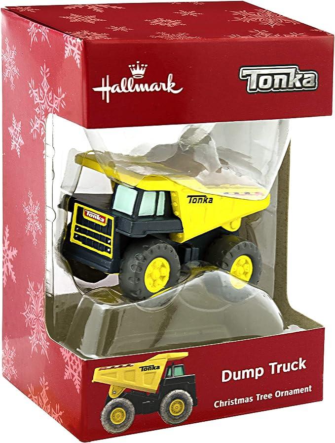 Hallmark Tonka Dump Truck Ornament Retro Toys 2HCM3298
